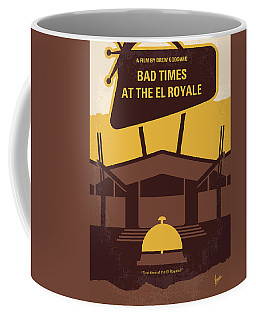 No1044 My Bad Times At The El Royale Minimal Movie Poster Coffee Mug