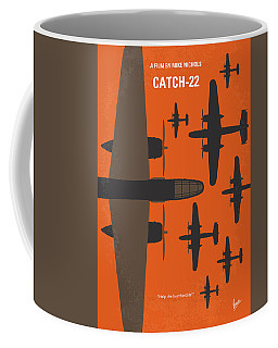 No1047 My Catch 22 Minimal Movie Poster Coffee Mug