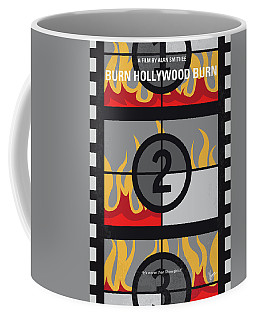 No1056 My Burn Hollywood Burn Minimal Movie Poster Coffee Mug