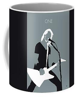 No257 My Metallica Minimal Music Poster Coffee Mug