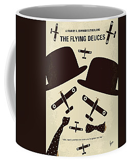 No983 My The Flying Deuces Minimal Movie Poster Coffee Mug
