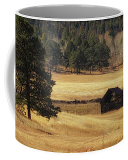 Coffee Mug featuring the photograph Noble Meadow Barn by Lukas Miller