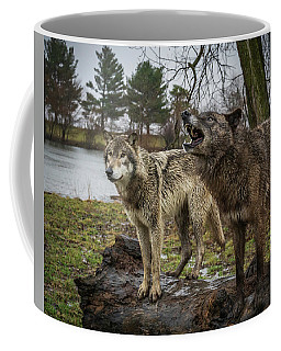 Noisy Wolf Coffee Mug