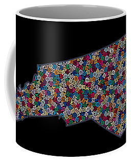 North Carolina Map - 2 Coffee Mug
