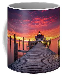 North Carolina Outer Banks Manteo Lighthouse Obx Nc Coffee Mug