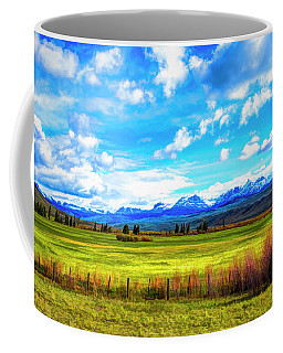 Coffee Mug featuring the photograph Northwest Wyoming Afternoon by Mike Braun