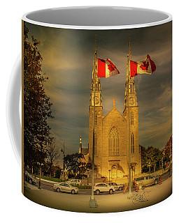 Coffee Mug featuring the photograph Notre Dame Basilica by Juan Contreras