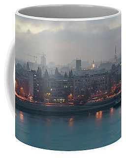 Novi Sad Night Cityscape Coffee Mug