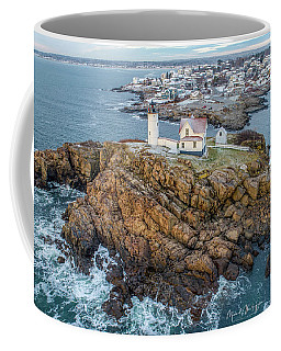Nubble Light Winter Coffee Mug