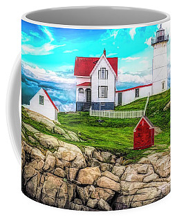Nubble Light York Maine. Coffee Mug