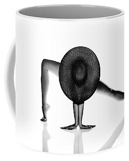 Nude Woman Black Hat Coffee Mug