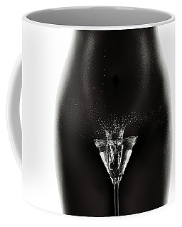 Nude Woman With Martini Splash Coffee Mug