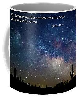 Number Of Stars Coffee Mug