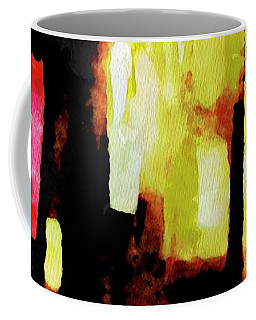 Coffee Mug featuring the painting Ny Verve 2 by Joan Reese