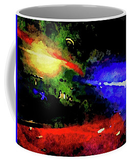 Coffee Mug featuring the painting Ny Verve by Joan Reese