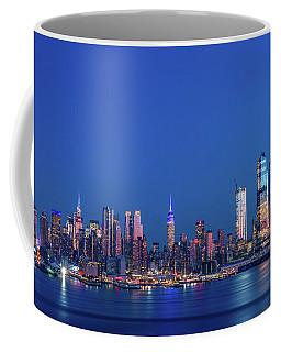Nyc The Blue Hour Coffee Mug