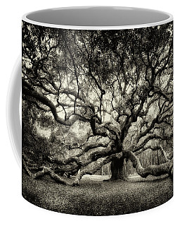 Oak Of The Angels - Sepia Coffee Mug