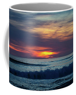 Coffee Mug featuring the photograph Obx Sunrise by Lora J Wilson