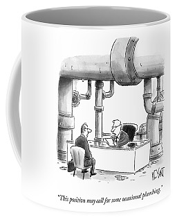 Occasional Plumbing Coffee Mug