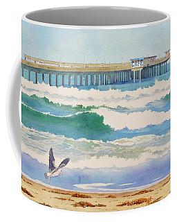Ocean Beach Pier California Coffee Mug