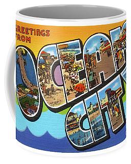 Ocean City Greetings Coffee Mug