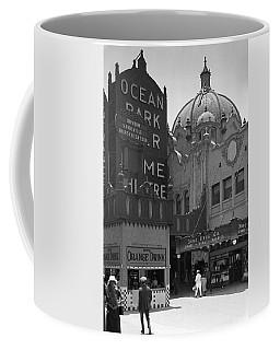 Ocean Park Pier 1920 Coffee Mug