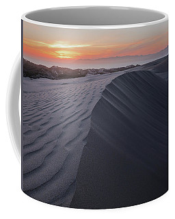 Coffee Mug featuring the photograph Oceano Dunes Sunset by Mike Long