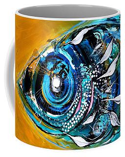 Ochre Fish Four Coffee Mug