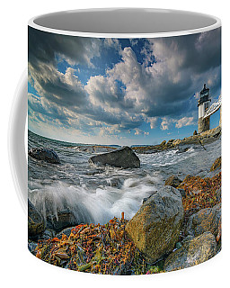 Coffee Mug featuring the photograph October Morning At Marshall Point by Rick Berk