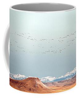 O'er The Mountains Coffee Mug