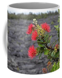Ohia Blossoms Coffee Mug
