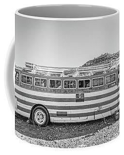 Old Abandoned Vintage Bus Jerome Arizona Coffee Mug