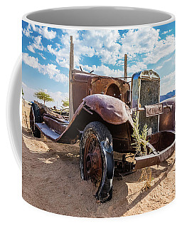 Old And Abandoned Car 3 In Solitaire, Namibia Coffee Mug