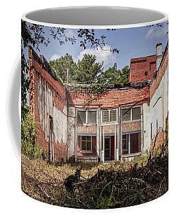 Coffee Mug featuring the photograph Old Brick Building by Randy Bayne