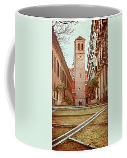 Old Church In Madrid Spain Coffee Mug