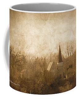 Old Church On A Hill  Coffee Mug