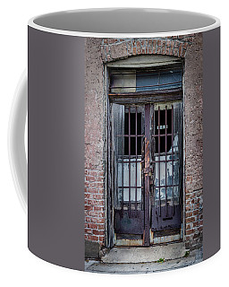 Old Door Coffee Mug