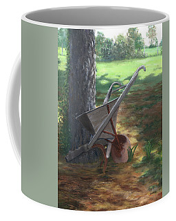 Old Farm Seeder, Louisiana Coffee Mug