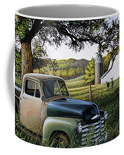 Old Farm Truck Coffee Mug