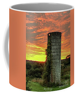 Coffee Mug featuring the photograph Old Friend Greating The New Day  by Michael Hughes