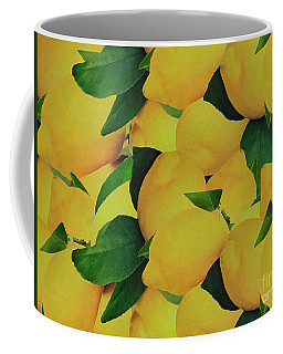 Coffee Mug featuring the photograph Old Gold Lemons by Rockin Docks