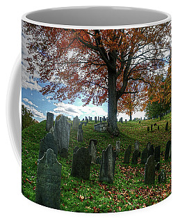 Old Hill Burying Ground In Autumn Coffee Mug