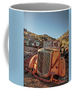 Old Mack Fire Engine Abandoned In Arizona Coffee Mug