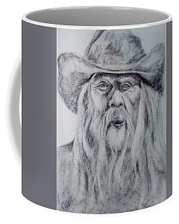 Old Man In A Hat  Coffee Mug