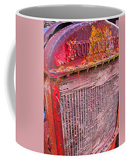 Old Red Coffee Mug