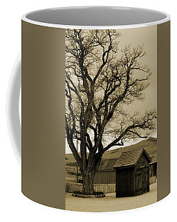 Old Shanty In Sepia Coffee Mug