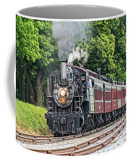 Old Steam Engine Coffee Mug