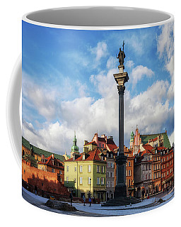 Old Town In City Of Warsaw Coffee Mug
