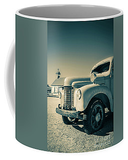 Old Vintage Fire Truck Ghost Town Coffee Mug