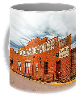 Coffee Mug featuring the photograph Old Warehouse In Farmville Virginia by Ola Allen